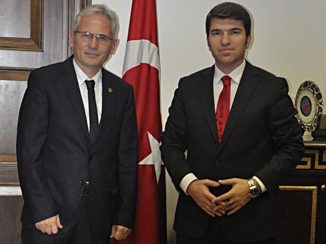 Beşiktaş Kaymakamı Önder Bakan ile bir araya geldik