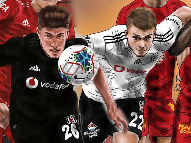 Beşiktaş maç çizimleri ve posterleri