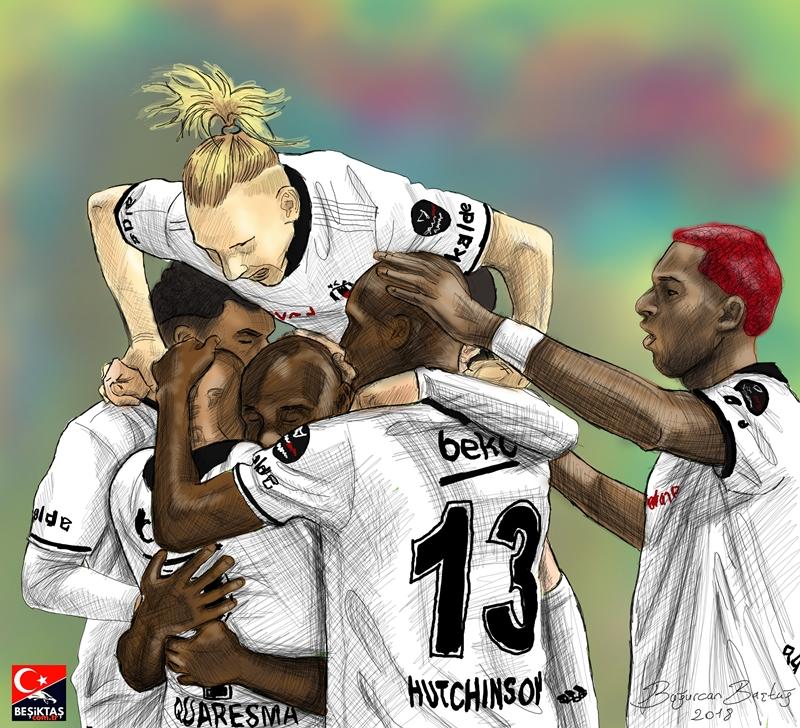 Beşiktaş 2018/2019 sezonu çizimler