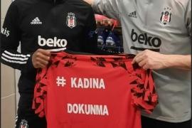 Beşiktaş'tan şiddet mağduru kadınlar için anlamlı proje: Kadına Dokunma