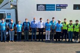 Başkan Akpolat, Milas'ta Belediye ekiplerine destek verdi