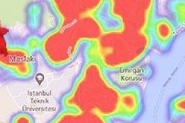 İstanbul'da yeşil alan kalmadı! Her yer Korona