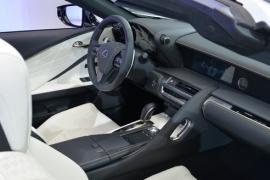 Lexus LC Convertible hayran bıraktı