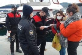 Beşiktaş'ta 52 kişiye 180 bin 388 lira ceza