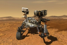 NASA'nın Perseverance gezgini ilk kez Mars'ta dolaşıyor