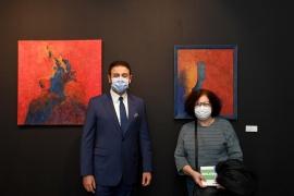 Beşiktaş'ta sanatçılar Buluşmalar Sergisi'nde bir araya geldi