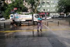Olağan dışı yağışın etkilerine karşı seferber oldular
