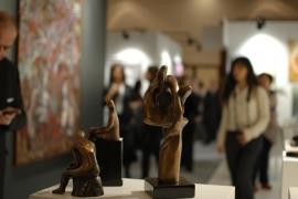 Ressam Devrim Erbil'in dev tablosu 40 eşit parçaya ayrıldı