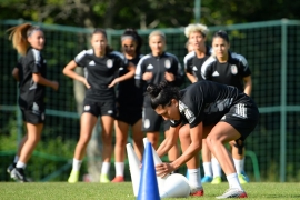 Beşiktaş Vodafone Takımı'ndan taktik ve kondisyon çalışması
