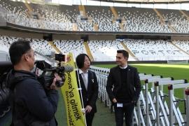 TV Tokyo'dan Vodafone Park'ta belgesel çekimi