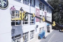 Beşiktaş'taki okullar yüz yüze eğitime hazır