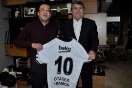 Özbekistan Futbol Federasyonu'ndan ziyaret