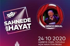 Açık havada her akşam bir usta sanatçı İstanbullularla buluşuyor
