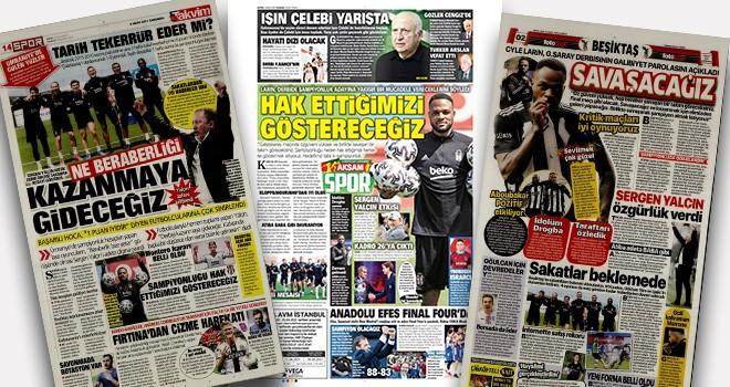 Günün Beşiktaş Manşetleri