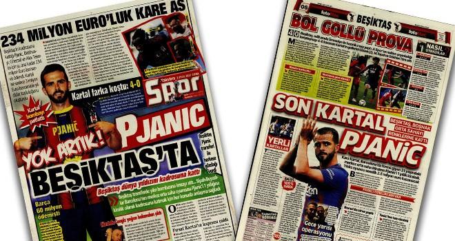 Beşiktaş Manşetleri (3 Eylül)