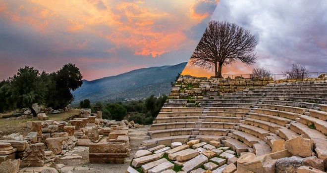 Anadolu'nun binlerce yıllık geçmişi Nysa ve  Teos Antik kenti
