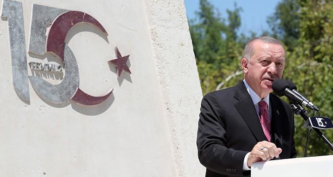 Cumhurbaşkanı Erdoğan: 15 Temmuz; milletin, millî iradenin, demokrasiye gönül verenlerin zaferidir