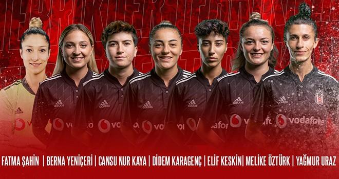 Beşiktaş Vodafone Takımı sporcularına Milli davet