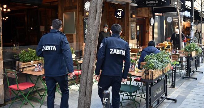 Beşiktaş'ta yeme içme yerlerine sıkı denetim