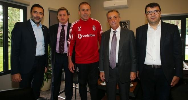 Başkan Çebi ve Teknik Direktör Avcı buluştu