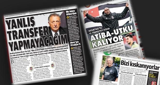 Beşiktaş transfer gündemi manşetlerde