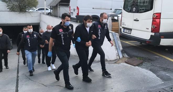 Uluslararası suç örgütü liderine Beşiktaş'ta polis baskını