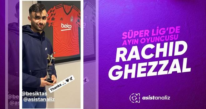 Nisan ayının futbolcusu Ghezzal