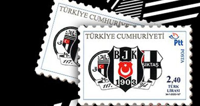 Beşiktaş'ın 117. Kuruluş Yıl Dönümü pulları satışa sunuldu