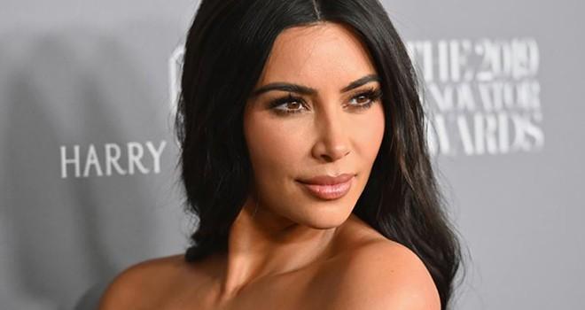 Kardashian'da affa destek verdi