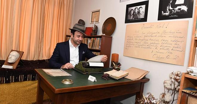 Başkan Rıza Akpolat'tan Orhan Kemal Müzesi'ne ziyaret