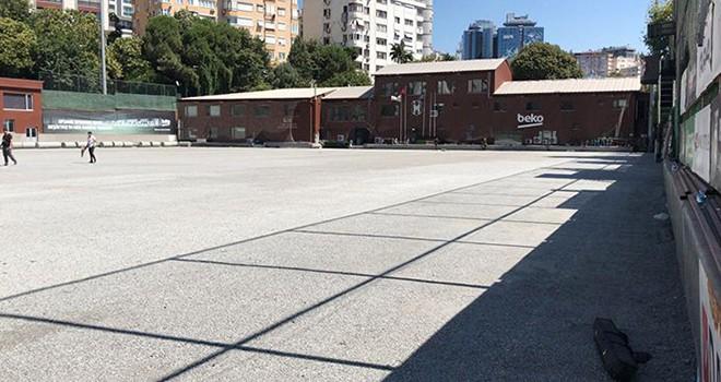 BJK Fulya Hakkı Yeten Tesisleri'nin sahası yenileniyor