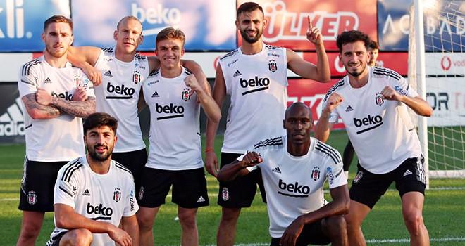 Beşiktaş, Gaziantep FK maçına hazırlanıyor