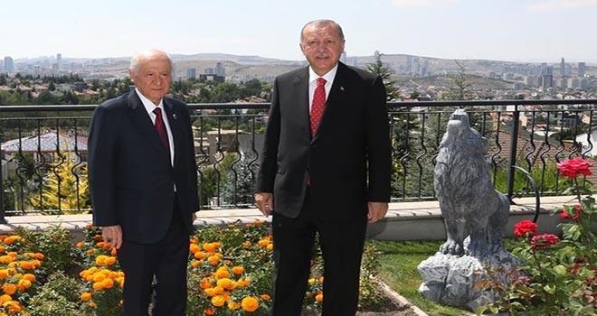 Erdoğan'dan Bahçeli'ye kahve ziyareti