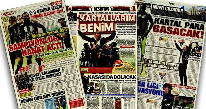 Günün Beşiktaş manşetleri!..