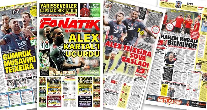 Beşiktaş'ın galibiyeti gazete manşetlerinde! (29 Ağustos)