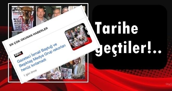 Bir rekor da Beşiktaş Medya Grup'tan. Yine Google en çok okunanlardayız