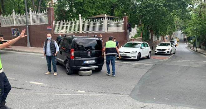 Beşiktaş'ta kırmızı ışık ihlali kazası