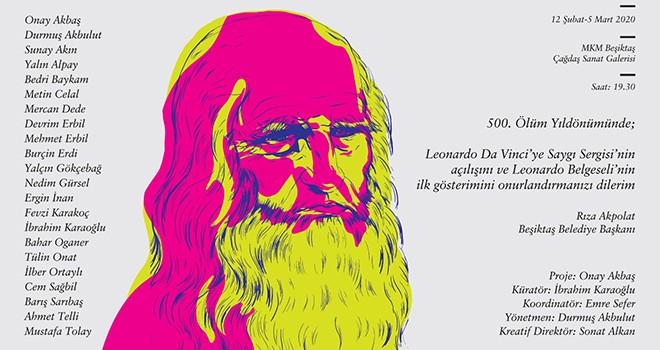 Leonardo Da Vinci'nin anısı Beşiktaş'ta yaşayacak