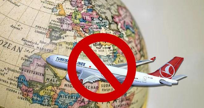 Türkiye'de 68 ülkeye uçuşların durdurulduğu açıklandı