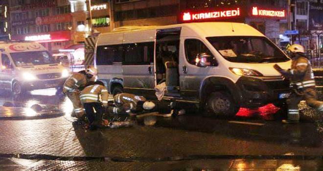 Beşiktaş'ta feci kaza da karşıdan karşıya geçmek isterken hayatını kaybetti