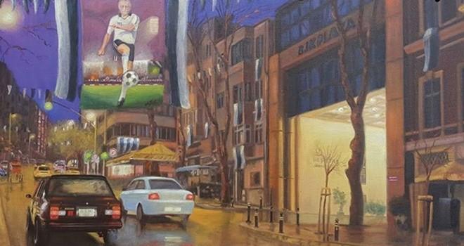 Beşiktaşlı ünlü ressamın eseri Beşiktaş Dergisi'nde!