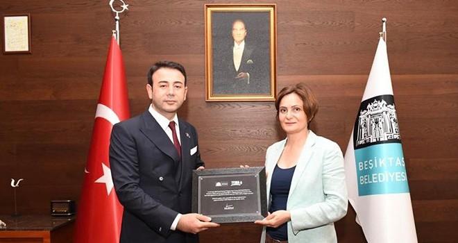 Kaftancıoğlu ile Akpolat Beşiktaş'ı turladı