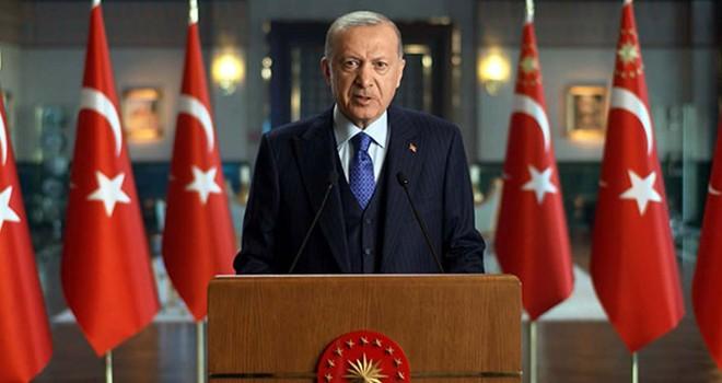 Cumhurbaşkanı Erdoğan: Tüm ülkelerin elini taşın altına koyması şarttır