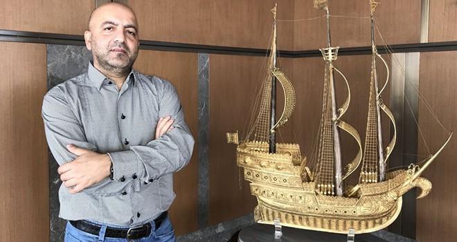 Gözaltına alınan Azeri iş adamı Mansimov'un Levent'teki iş yerinde arama yapıldı