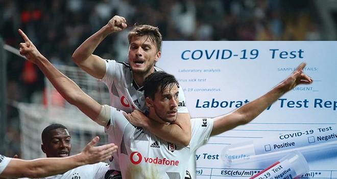 Beşiktaş'ta şok! İki futbolcu yine pozitif çıktı