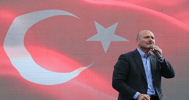 Süleyman Soylu, Türkiye'ye patlayıcı sokmaya çalıştılar