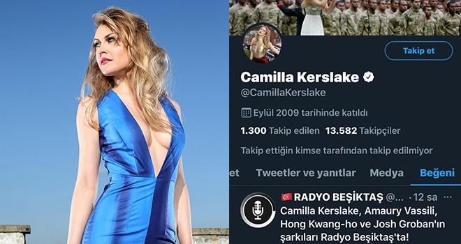 İngiliz soprano Camilla Kerslake'den Beşiktaş Medya Grup'a beğeni
