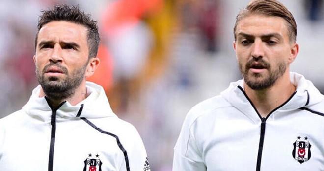 Gökhan Gönül ve Caner Erkin'den Beşiktaş'a veda sözleri