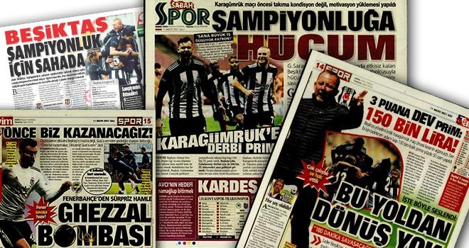 Gazete manşetleriyle Beşiktaş!..