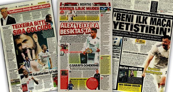 Beşiktaş manşetleri (6 Ağustos)